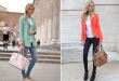 how to wear a blazer style lena penteado colorful blazer 2