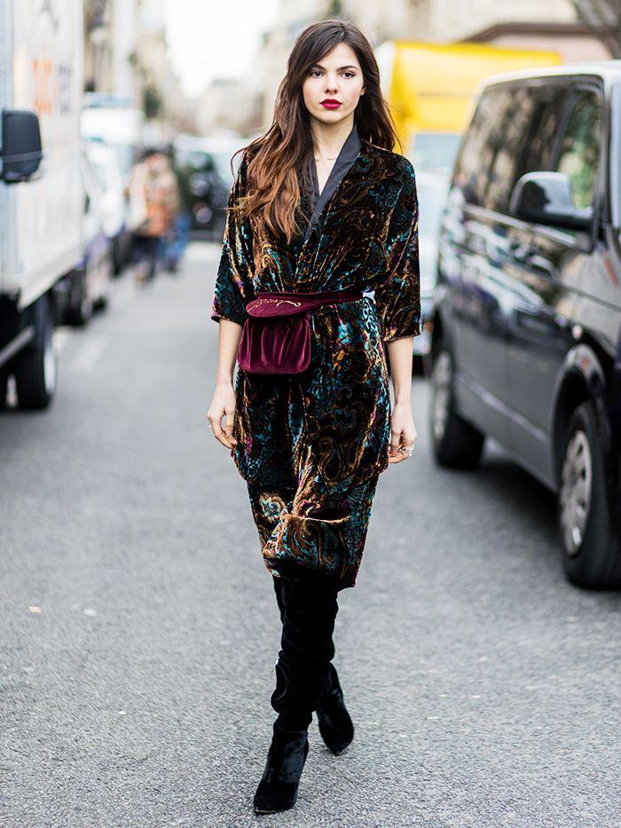 How To Style Velvet Dresses
