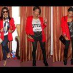 SASSY SATURDAYS: Fall Fashion- 3 ways to wear a RED blazer