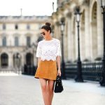 20 Style Tips On How To Wear Suede Skirts: Gurl waysify
