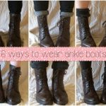 6 easy ways to wear ankle boots/ankle booties! / Holly - YouTube