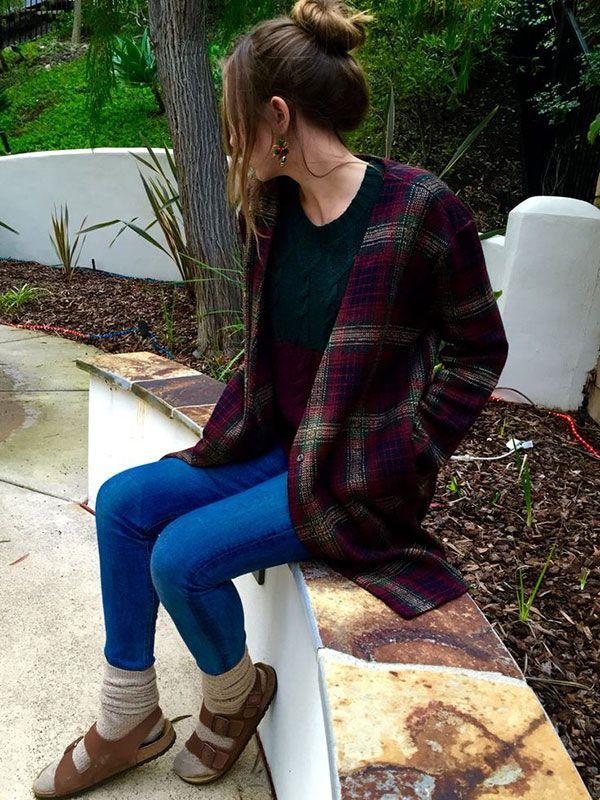 How To Wear Birkenstocks in Fall