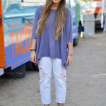 Jones, sophomore, wears her Florida Birkenstocks paired with washed out gap  boyfriend jeans,