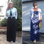 "Here is what Loraine had to say about her dresses: ""I have maxi dresses  which I wear"