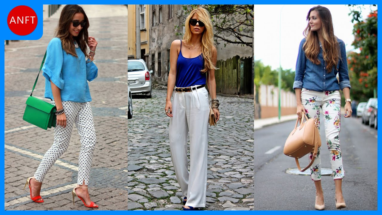 How to Wear Pants In Summer