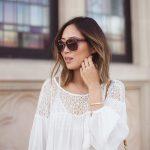 Parisienne: 22 Ways to Wear Peasant Tops This Summer