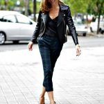 19 Cool Outfit Ideas with Leather Jackets