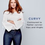 Petite Curvy Skinny Jeans in White $69.50