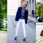 Casual Outfits for Fall: How To Style Your White Jeans Transitioning From  Summer to Fall - Glamour