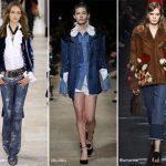 Fall/ Winter 2016-2017 Fashion Trends: Denim