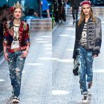 Jeans fall 2017 winter 2018: decorative elements