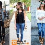 Cute outfit ideas with jeans and sandals