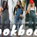 2018 DIY Overall Dress Jumper Outfits | Jumper Dress Outfit Ideas | Spring  Lookbook