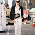 I have gathered beautiful fashion bloggers, editors, models, and street  style stars who are wearing elegant jumpsuits in the streets of big cities.