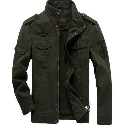Khaki and Military Green Jackets
