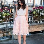 Chi Chi London Full Lace Skirt Outfit | Petite Fashion Blog