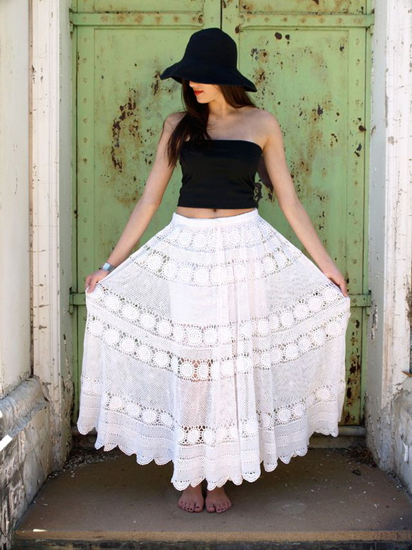Lace Skirts for Summer