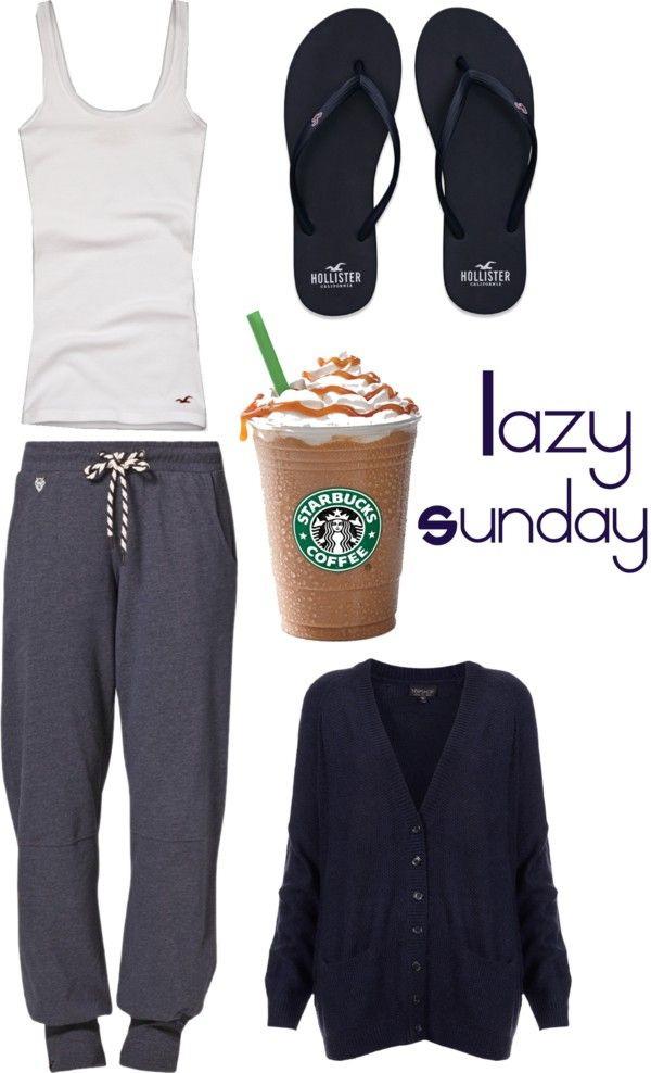 Lazy Sundays Looks