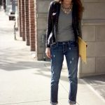 20 Style Tips On How To Wear A Leather Jacket   Fashion   Boyfriend