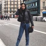 boyfriend-jeans-and-black-leather-jacket-outfit | Ecemella