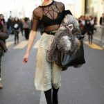 Spring 2017 Street Style Trend, Free Spirit Style: Strappy Bralette