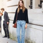 Loafers And Denim Street Style Looks