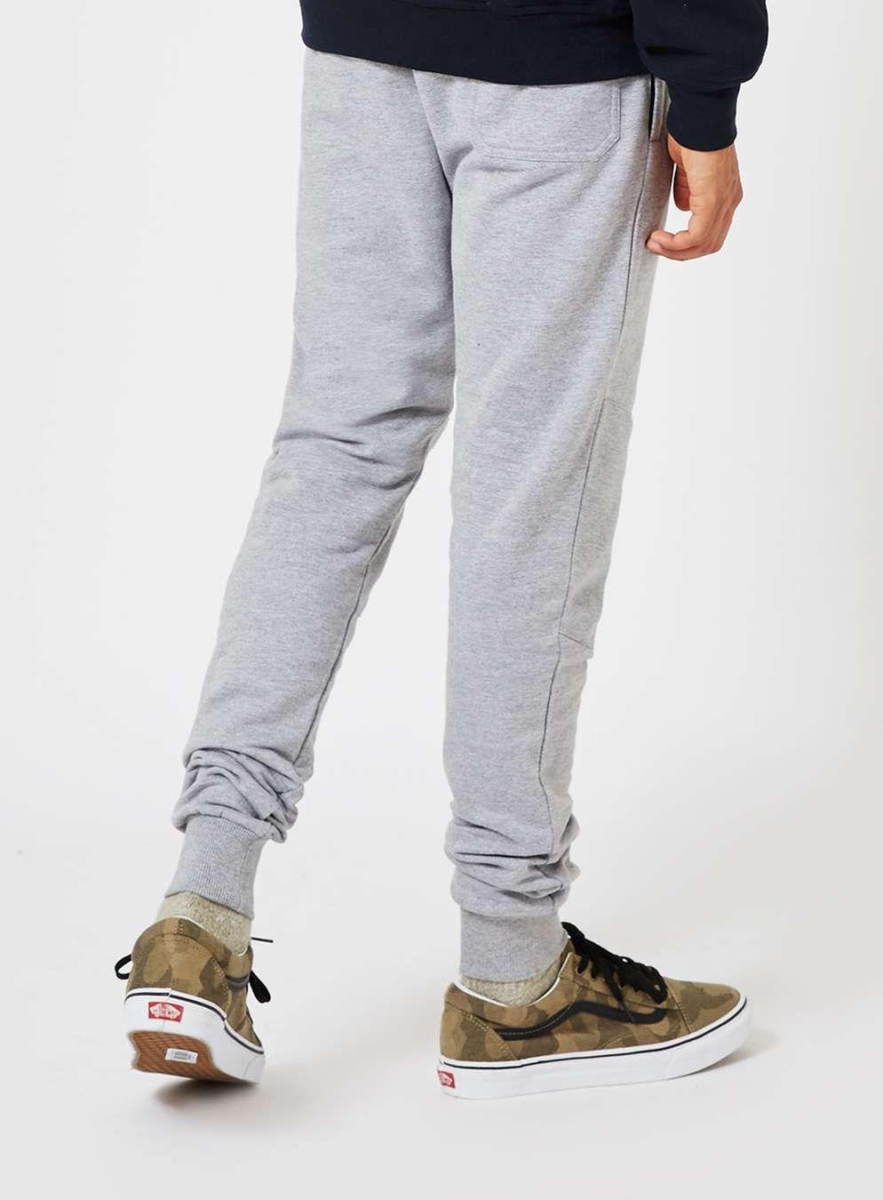 NICCE Grey Marl Panelled Joggers - Loungewear & Sweatpants - Clothing -  TOPMAN USA