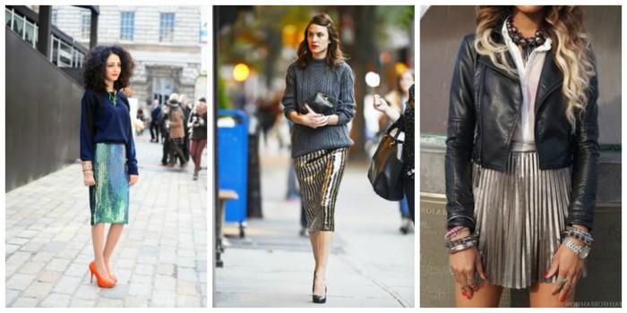 Metallic Fashion Trend