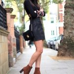 Mini Skirts And Ankle Boots