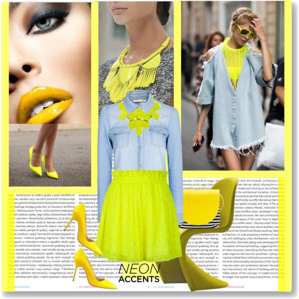 Neon Skirts Trend