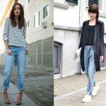 feminine boyfriend jeans outfit ideas