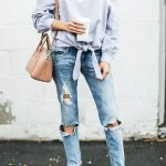 19 Ripped Jeans that are Super Cheap | Fashion Outfit Ideas | Outfits,  Fashion, Boyfriend jeans outfit