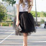 Tulle Skirt - 20 Ways Stylish Women Are Wearing Tulle Skirts | Fashion |  Skirt outfits, Skirts, Outfits