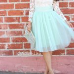 Mint Tulle and Lace-9