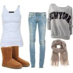 Lazy Sunday Outfit Ideas For Women (4)