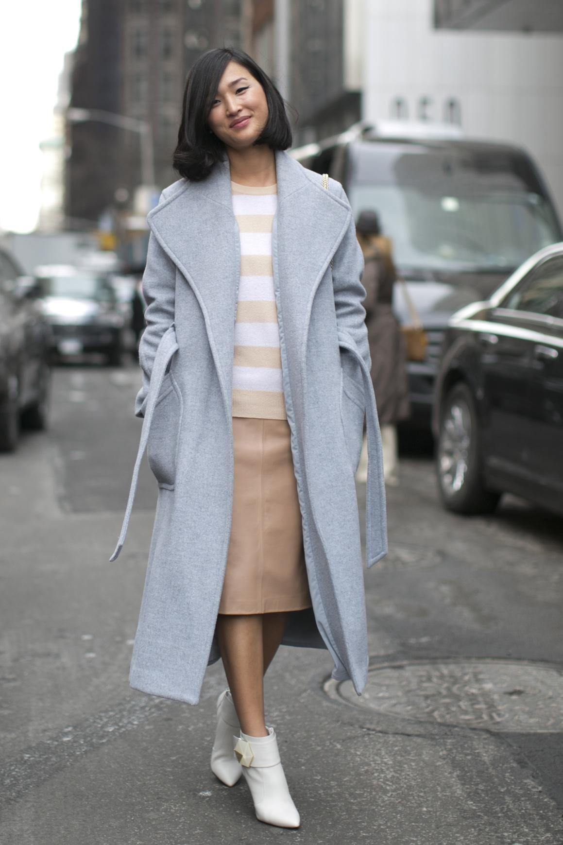 Oversized Overcoats Street Style