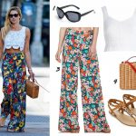 ways to wear wide leg palazzo pants trend summer 2014 outfits ideas fashion