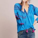 Summer Fashion | Bohemian Peasant Top | Summer Tops | Summer Fashion Ideas  #blousesforwomenideas