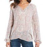 Peasant Women's Casual & Dressy Tops & Blouses | Dillard's