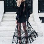 Peekaboo Lace Street Style (1)