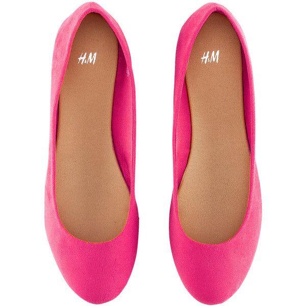 Pink Flat Pumps