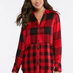 Two Scale Buffalo Plaid Shirt