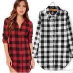 2019 2018 New Checkered Plaid Blouses Shirt Cage Female Long Sleeve Casual  Slim Women Plus Size Shirt Office Lady Tops From Xuqiuxiang3, $13.18 |  Traveller Location