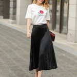 2019 Womens Classic Long Skirts Summer Spring Autumn Sweet Female Casual  Mid Calf A Line Pleated Skirt From Loral, $40.45 | Traveller Location