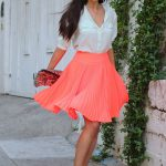 Pleated Skirt for Summer