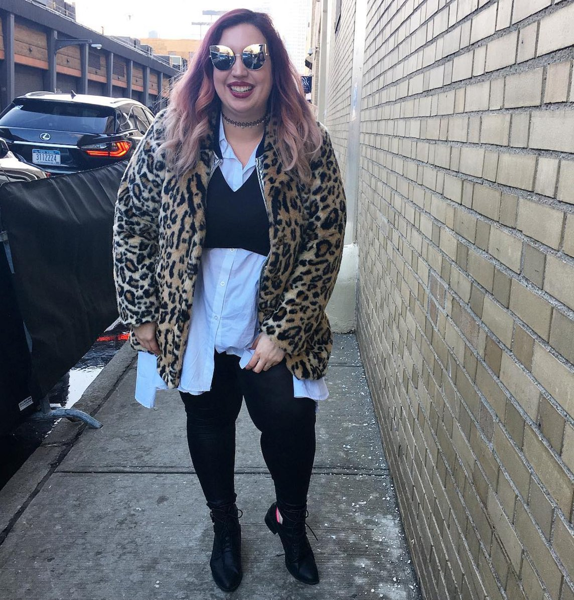 Plus Size Bloggers Street Style