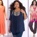 plus size bohemian clothing style fashion