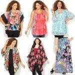 Floral Fashion Plus Size Clothing