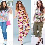 Plus Size Floral Fashion Trend 2015 (26)