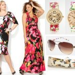 Plus Size Floral Fashion Trend